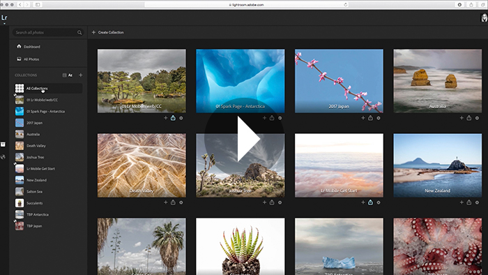 An Overview of the Lightroom Web Interface