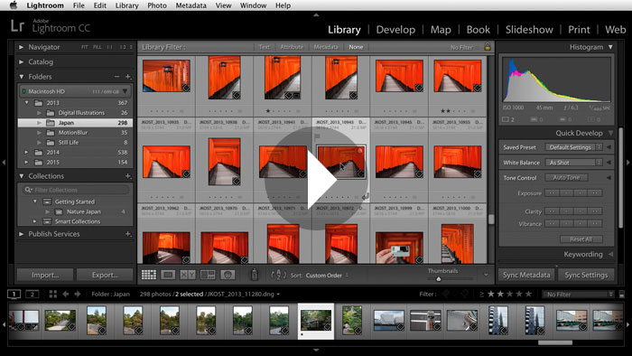 Getting Started in Lightroom CC: Creating Custom Collections of Images
