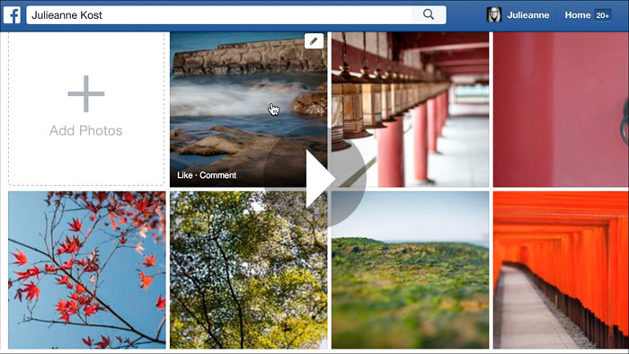 Getting Started in Lightroom CC: Publishing Collections of Photographs to Facebook