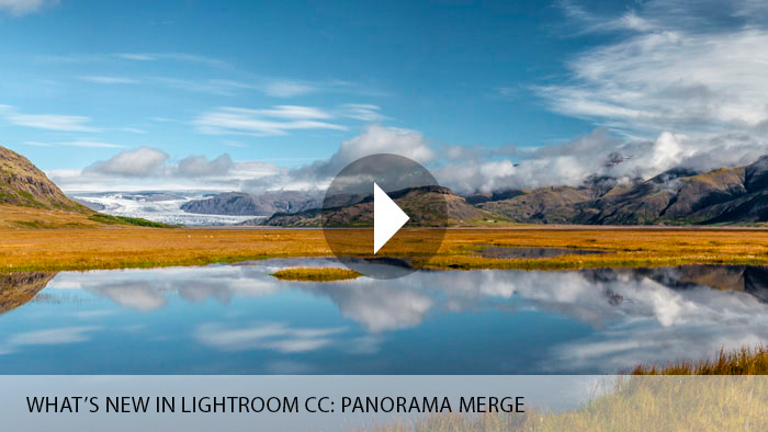 What's New in Lightroom CC: Panorama Merge