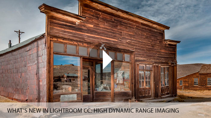 What's New in Lightroom CC: High Dynamic Range Imaging