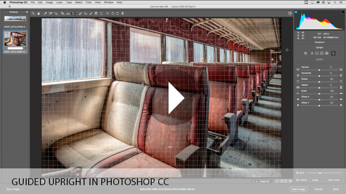 Guided Upright in Photoshop CC