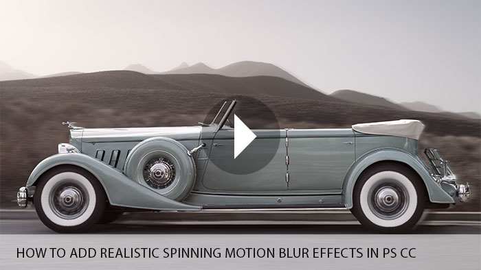 How to Add Realistic Spinning Motion Blur Effects